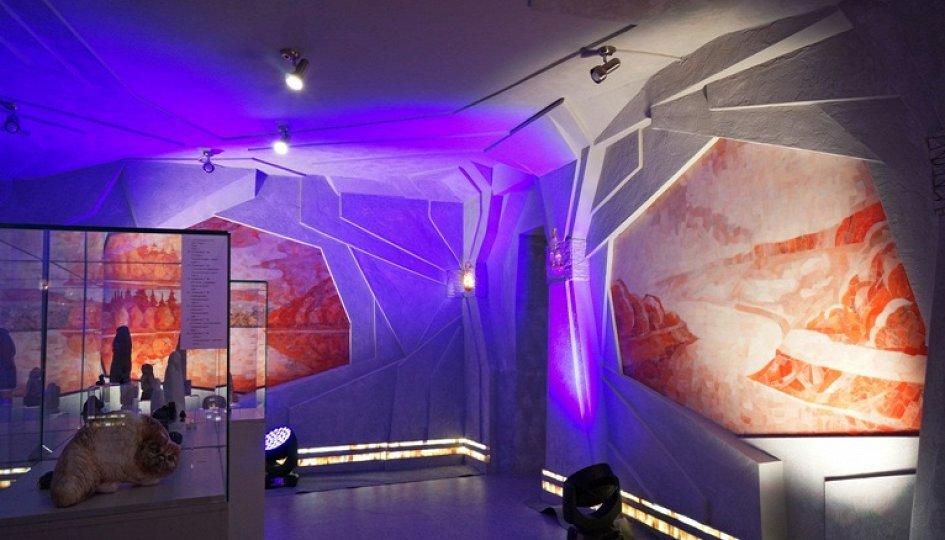 Выставки: Селенитовая комната