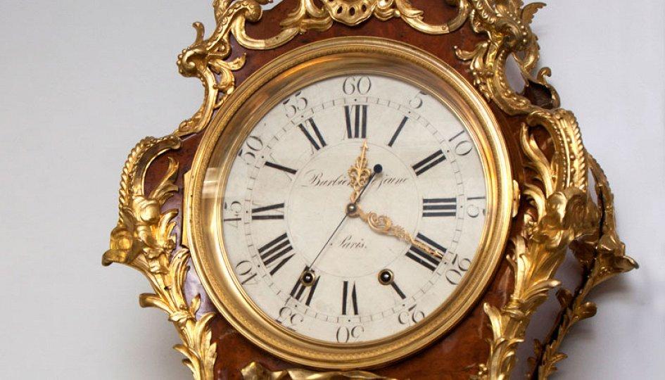 Выставки: Напольные часы Жана-Пьера Латца. К завершению реставрации