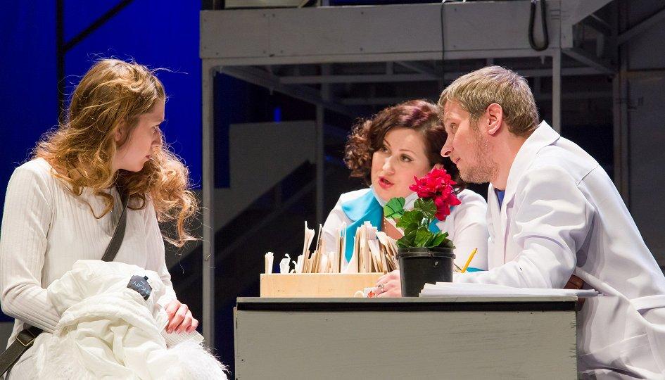 Театр: Белый ангел с черными крыльями