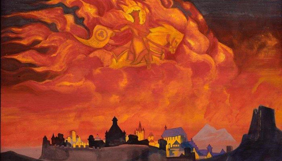 Выставки: Творчество Н.К.Рериха. Репродукции картин