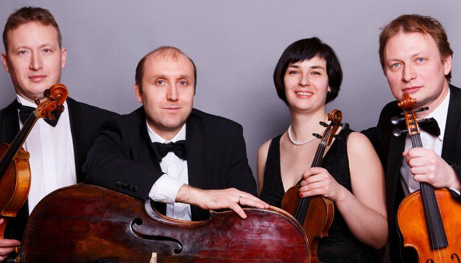 Концерты: «Шедевры XX века»: Квартет Свердловской филармонии