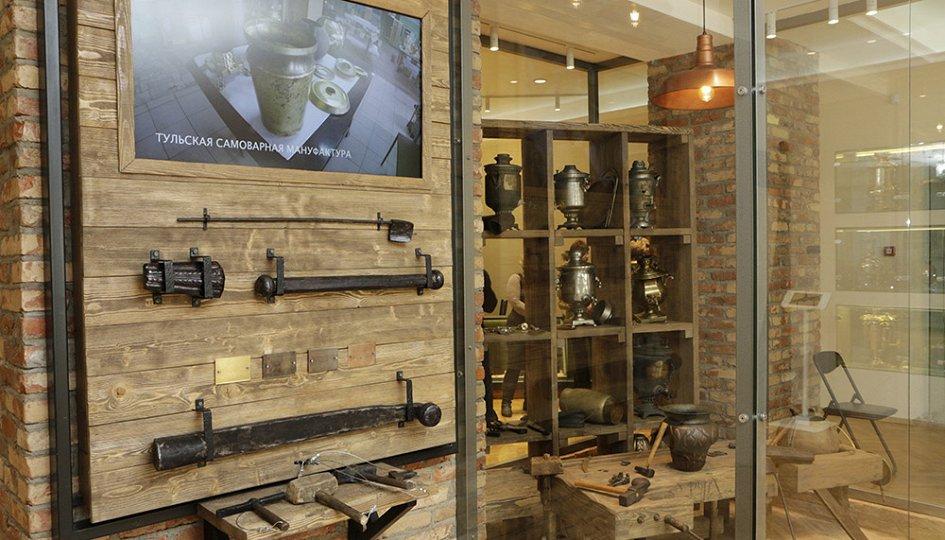 Выставки: Экспозиция музея «Тульские самовары»
