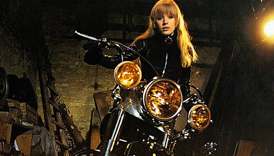 Кино: «Мотоциклистка»