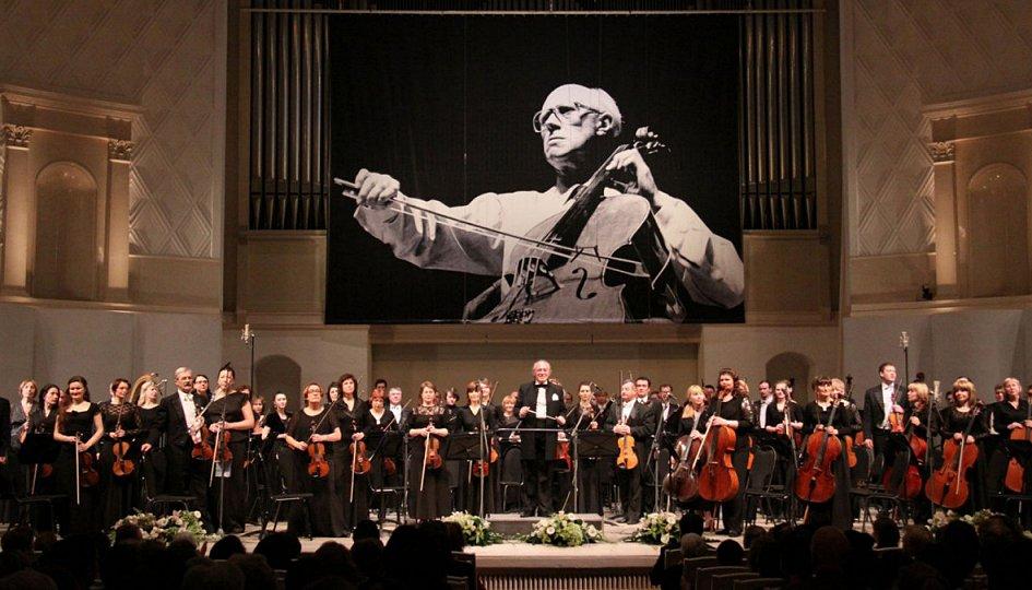 Концерты: Жанна Домбровская, Софья Некрасова, Елизавета Бокова (все — сопрано)