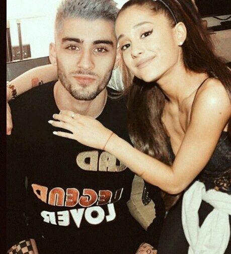 Ariana grande and zayn malik manip
