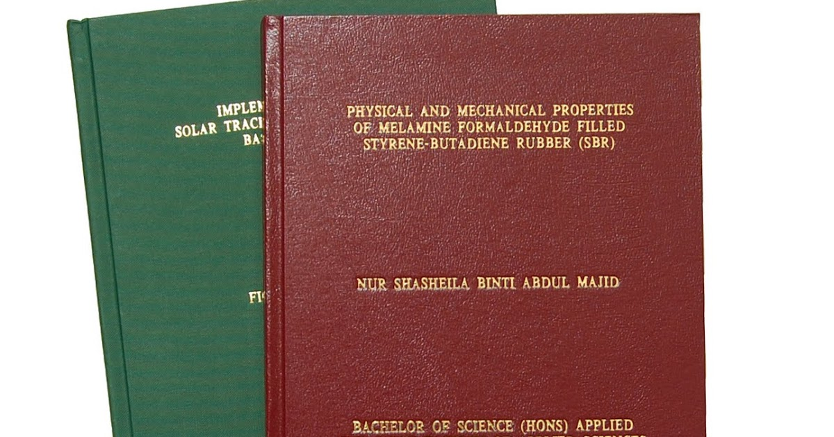 Thesis Printing and Binding - Welcome to Wert