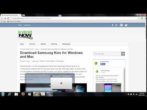 Download Samsung Kies