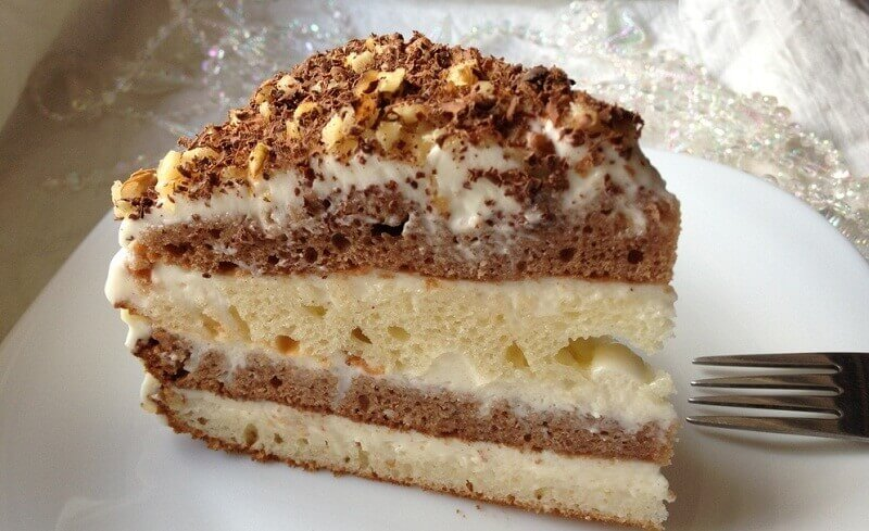 Рецепты сметанных тортов с фото