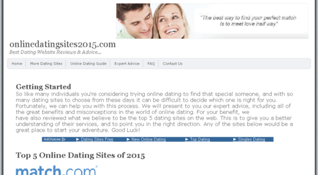 US online dating site age 2015 - Statistic