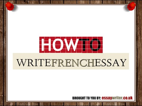 French extended essay