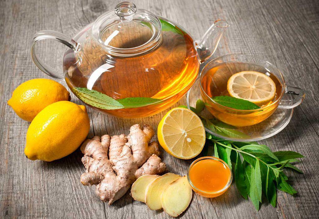 Рецепт имбирного чая для повышения потенции