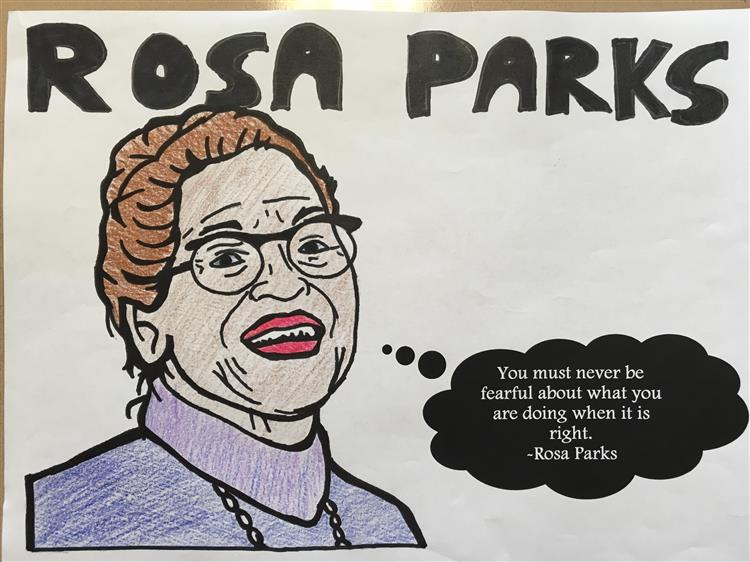 rosa parks research paper