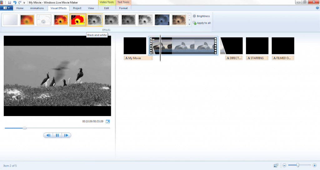 Download the latest version of Windows Movie Maker