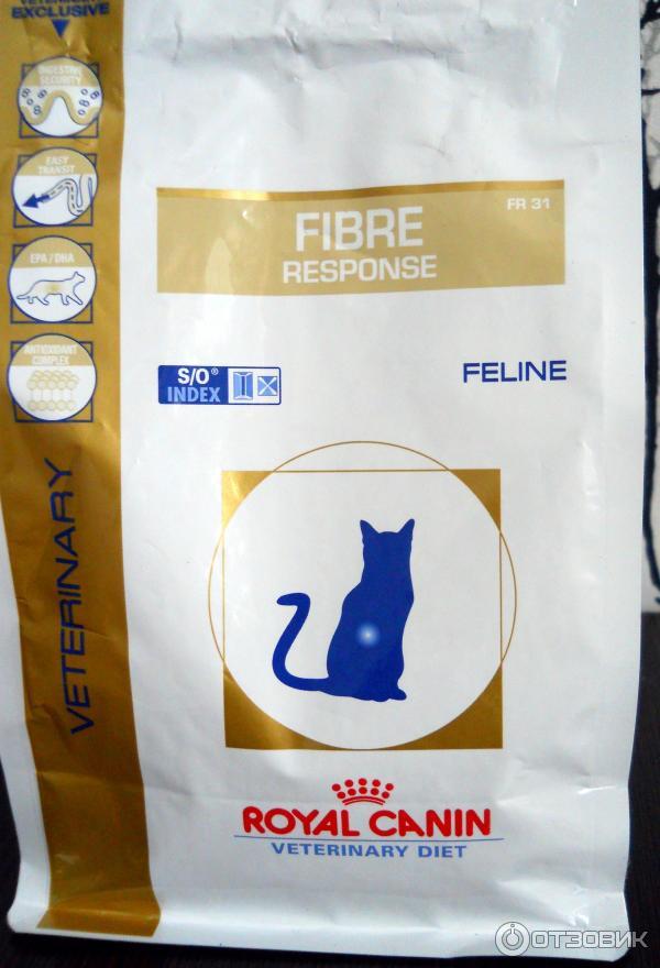 Корм royal canin fibre response для чего