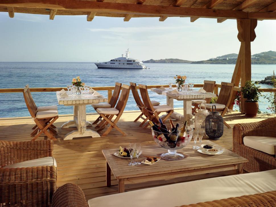 Ресторан в остров Тасос у моря недорого в рублях