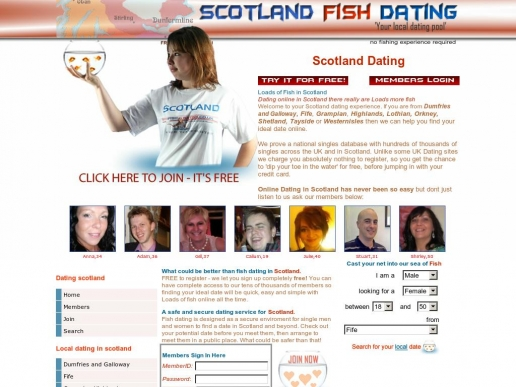 Just fish dating uk