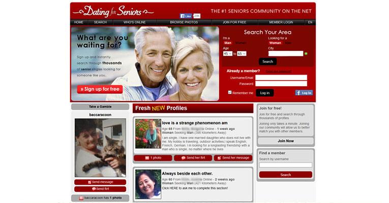 User reviews senior dating sites
