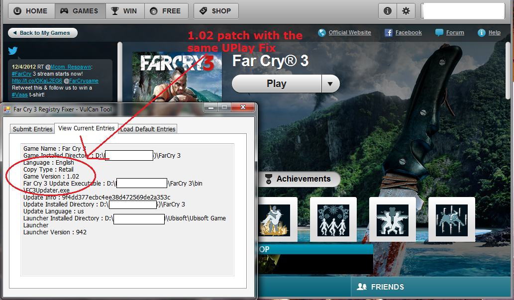 Far cry rar key password