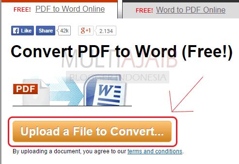 Convert pdf to word - pdf to word - online pdf to word