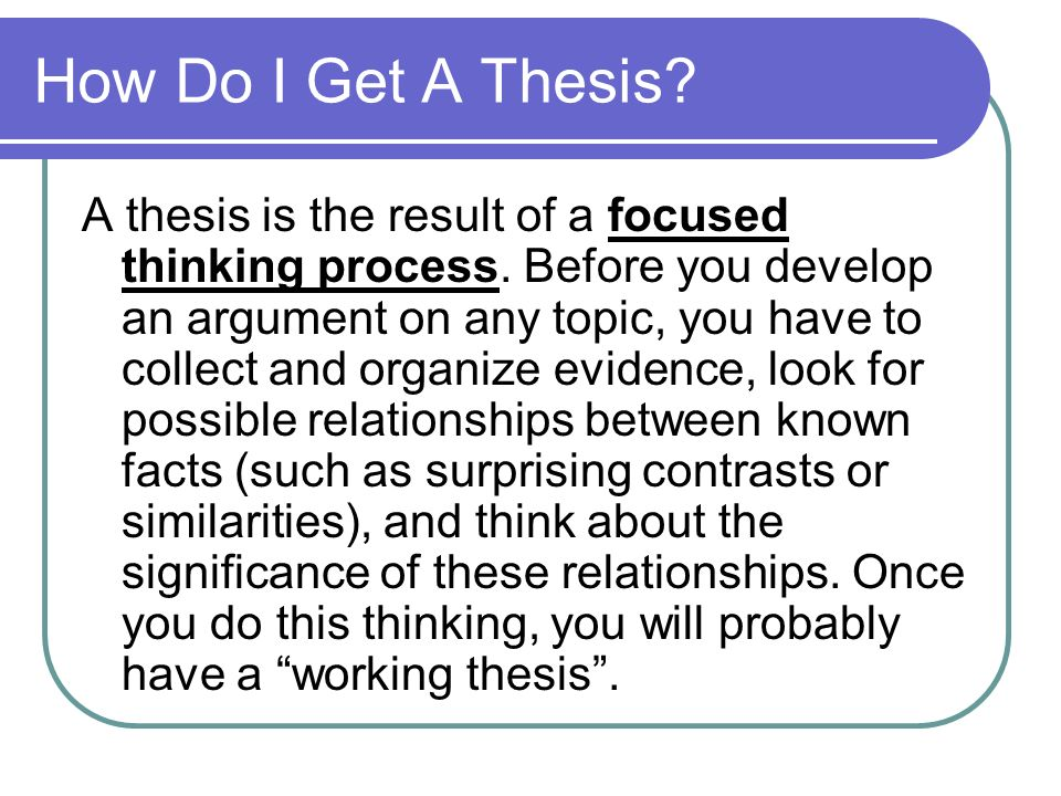 Write My Thesis Paper For Me - Master and PhD Writers