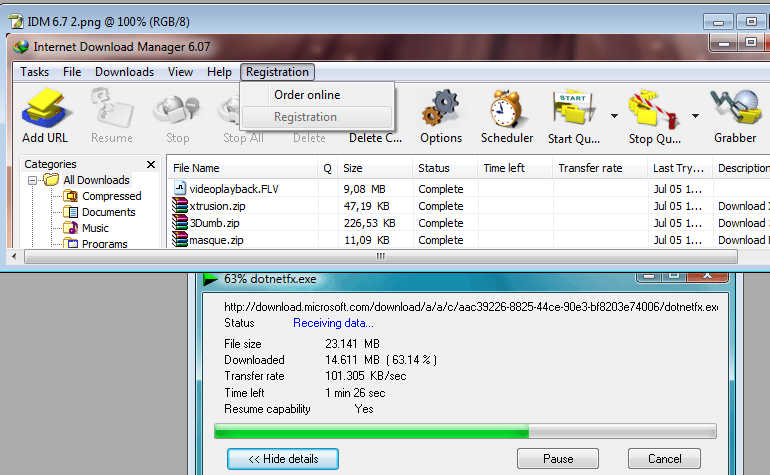 Download Internet Download Manager: high speed download