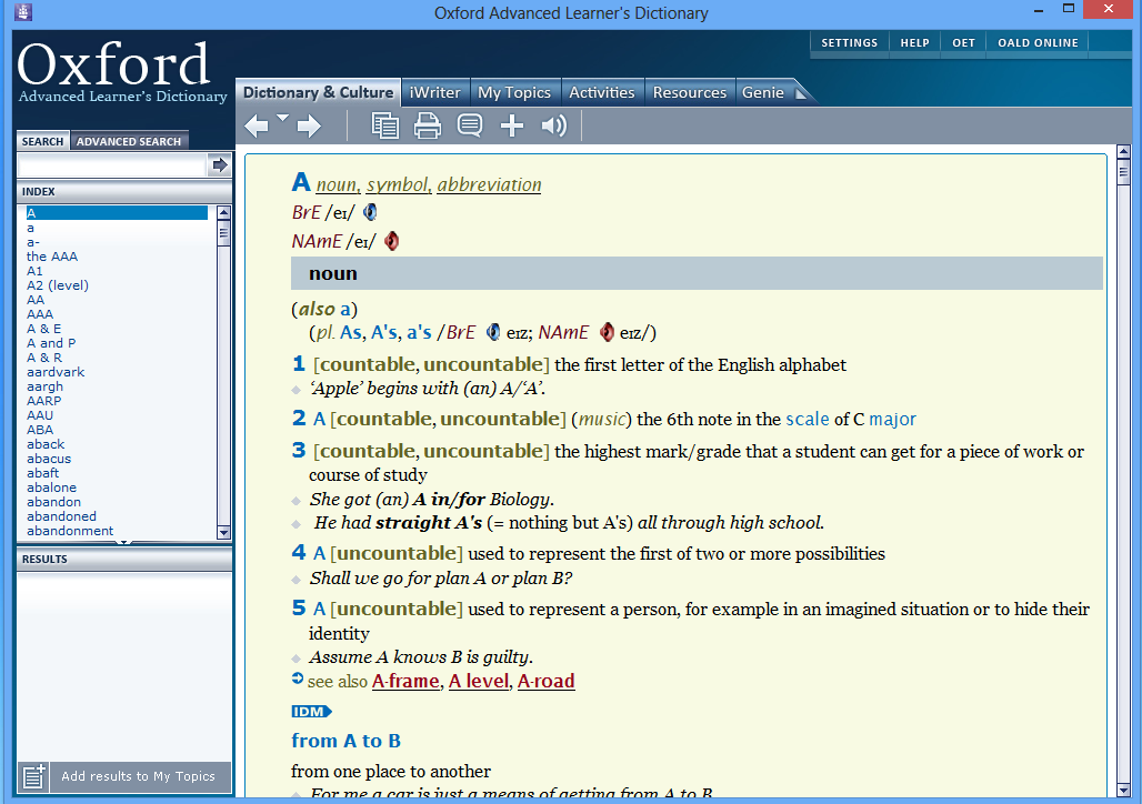 Oxford Dictionaries - The World's Most Trusted Dictionary