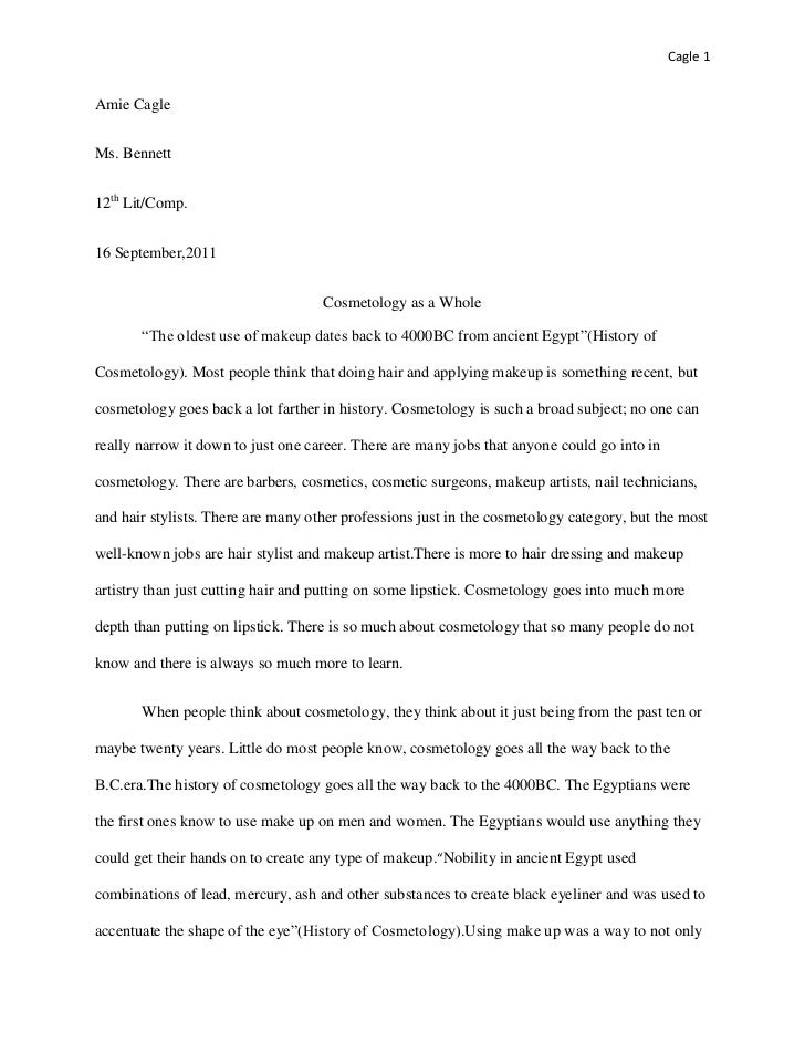 Write my scholarship essay for cosmetology