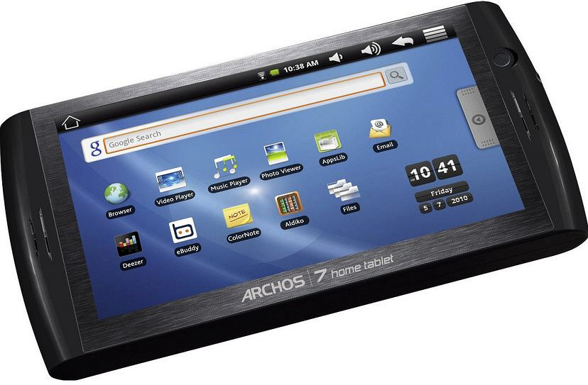 Manuel archos 7 home tablet