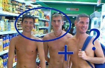 Tattooed gay porn star