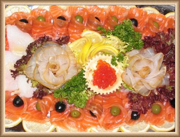 Холодные блюда из рыбы рецепты с фото