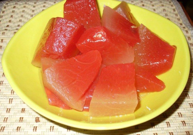 Рецепт быстрой засолки арбуза