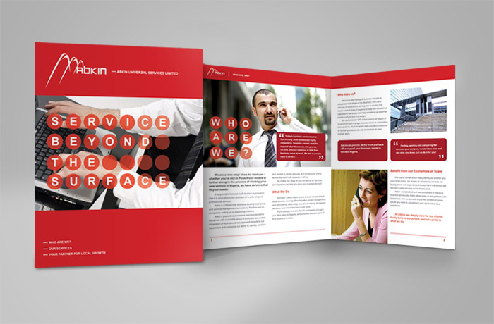 Brochure writing services