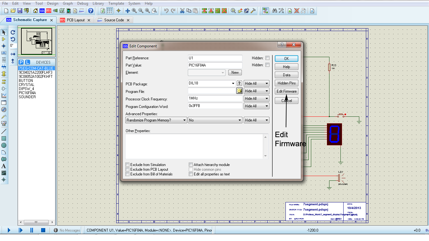 Proteus Simulationssoftware Fr 8051 Patch Circuit Simulation Software Free Interfacing Of Lcd With And Using Professional 8 Duration Innovation Lives Here 2376 Views Led