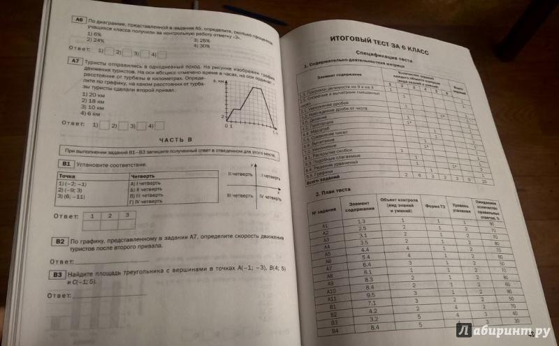 Тесты по математике 7 класс онлайн бесплатно ответы