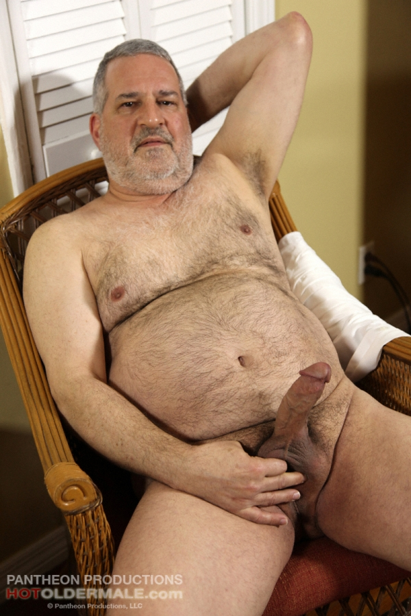 Hairy nude older men think