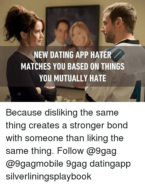 New dating app haters