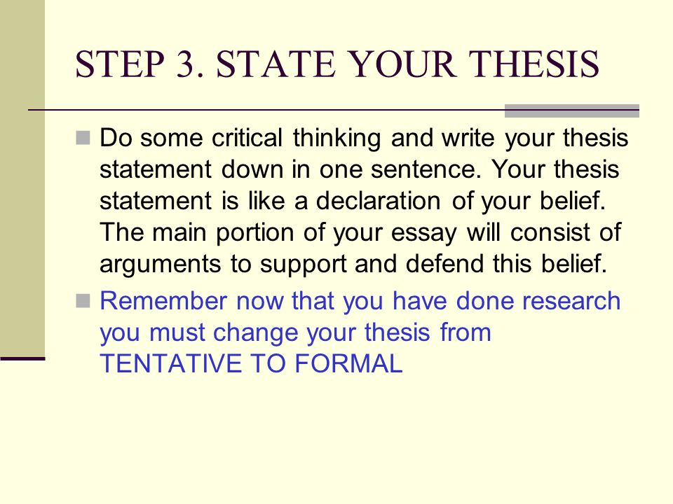 Conclude sentence essay: Write my thesis for me