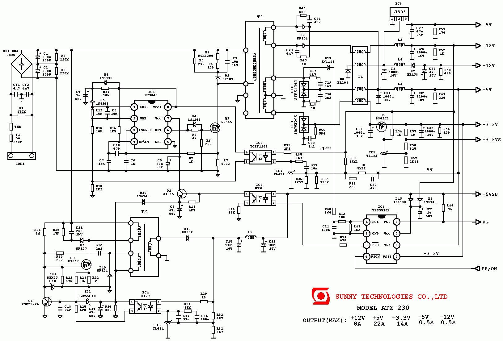 lpq6-400w схема
