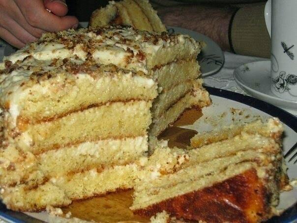 Самый быстрый тортик рецепт с фото