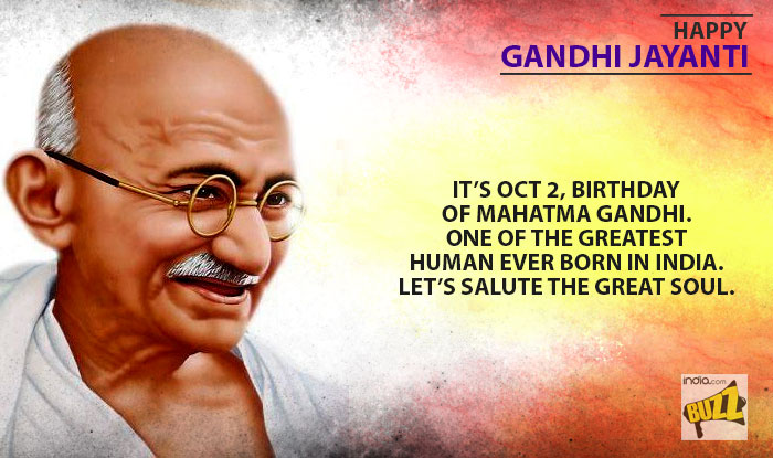 Gandhi jayanti essay - The Quay House