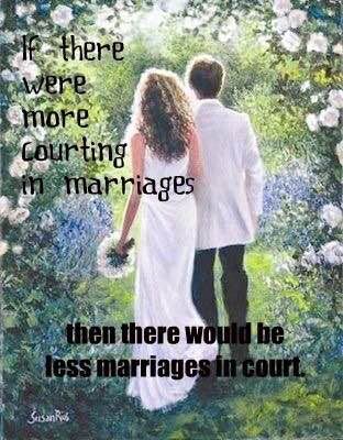 Courting dating and marriage