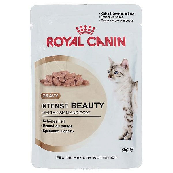 Корм royal canin интенс бьюти