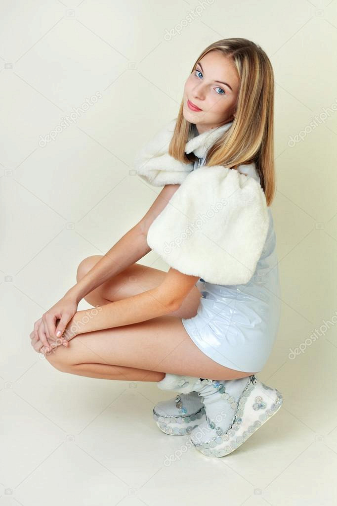 Busty college teen blonde