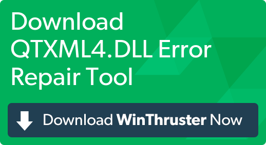 What is qtxml4dll - error-toolkitcom