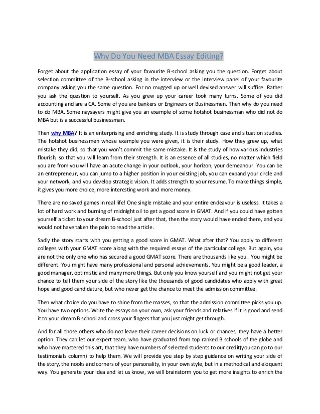 How To Write A Good Mba admission essay buy structure Allstar Construction