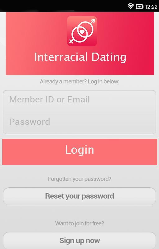 Free interracial dating app