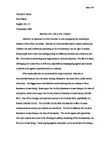 essay on pro choice financials growth essay on pro choice