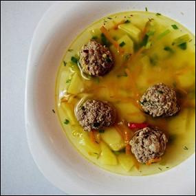 супы из мяса зубра бизона рецепт