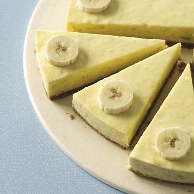 Рецепт Яблочно-банановый чизкейк беззапекания