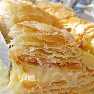 Рецепт Торт «Наполеон» сапельсиновым кремом